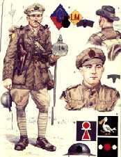 primeros uniformes militares